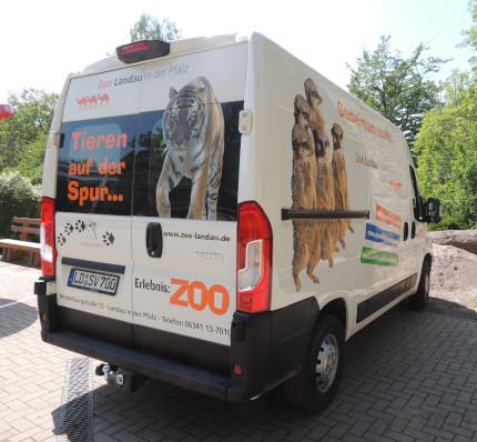 Der Zoo Landau ist neu mobil unterwegs
